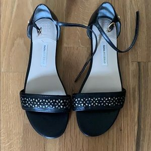 Dana buchman black dress sandals